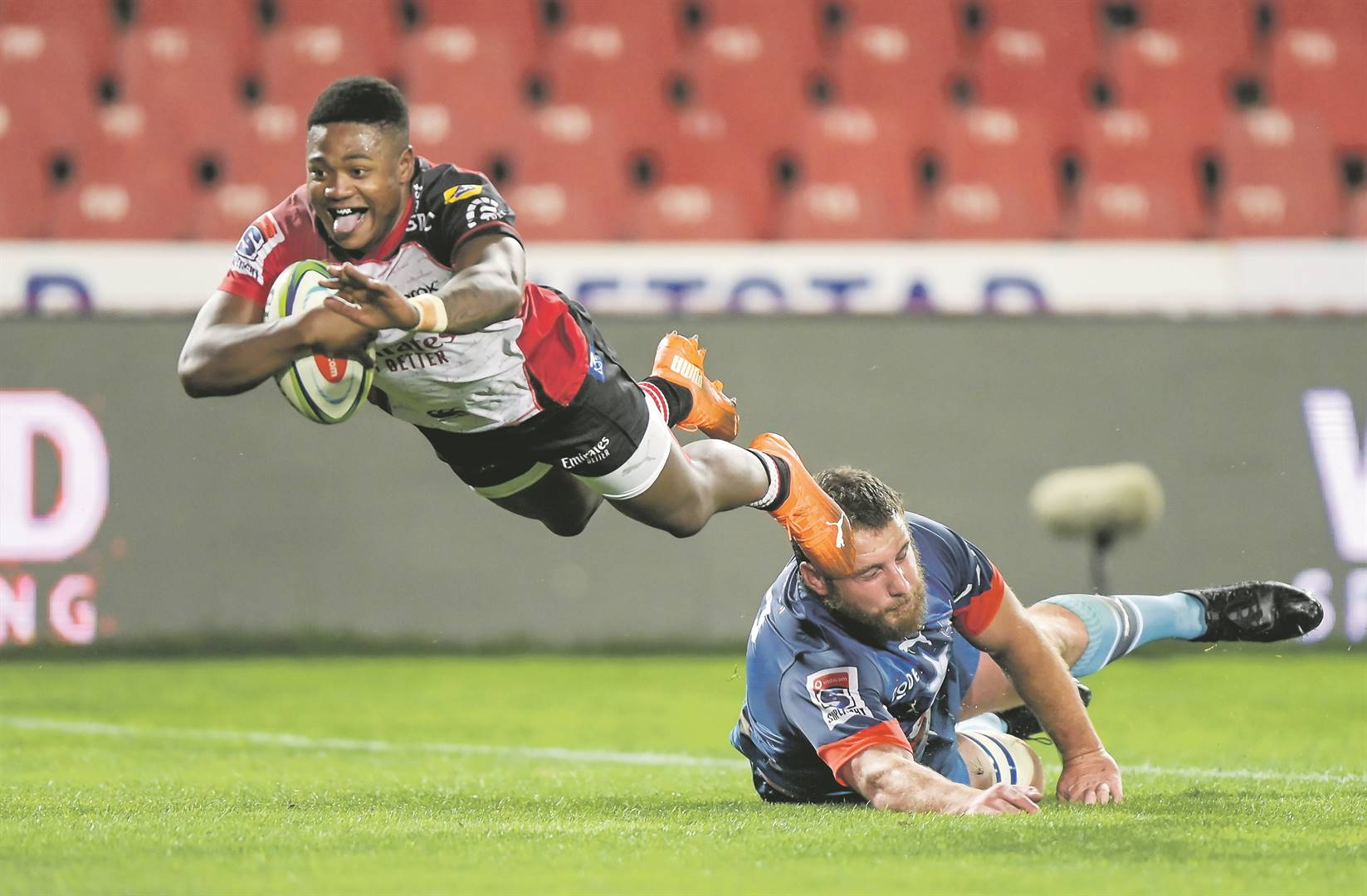 Lions keen to fight Toulouse for in-form Simelane's signature | Citypress