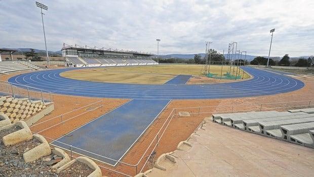 The Pietermaritzburg athletics track.