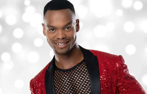 Johannes Radebe on Strictly Come Dancing UK. (Photo supplied BBC)