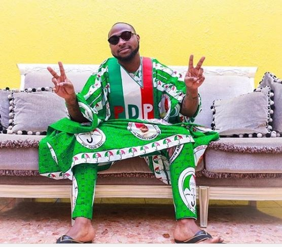 See What Davido Has Been Doing In Osun