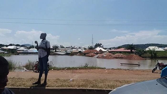 Kogi flood houses