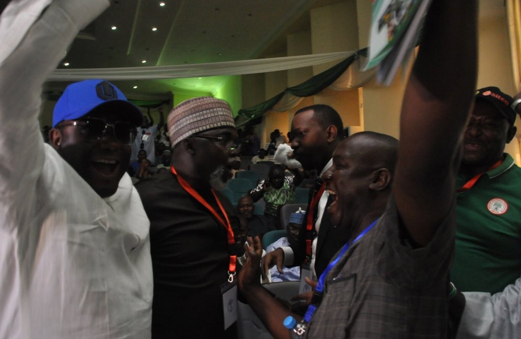 Pinnick wins NFF elections
