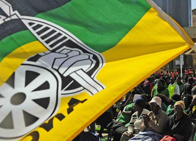ANC flag. (Thulani Mbele, Gallo Images, Sowetan, file)