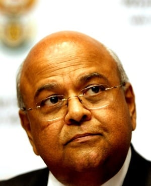 Minister of Public Enterprises Pravin Gordhan