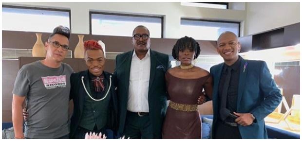 Idols judges with Mathew Knowles. (Photo: Idols SA