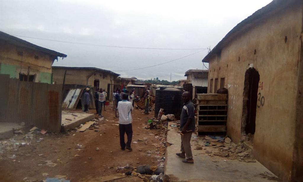 demolition, abakaliki market, ebonyi state