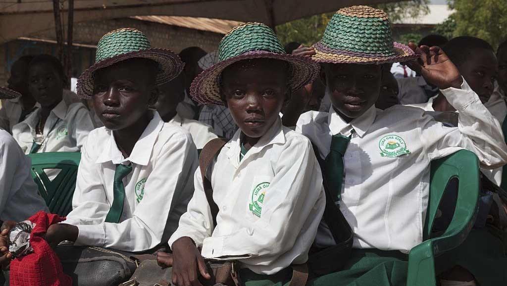 Schoolgirls in South Sudan