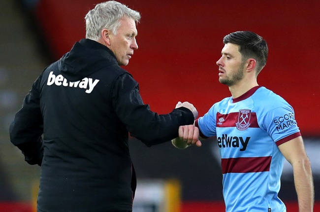 David Moyes and Aaron Cresswell (Getty Images)