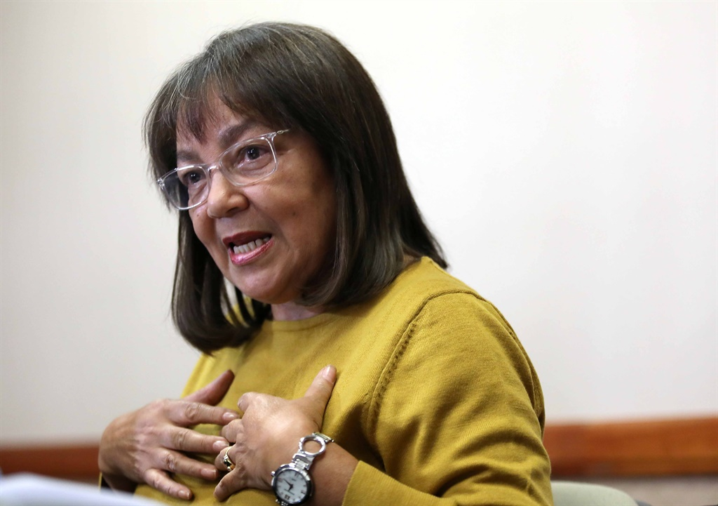 Public Works and Infrastructure Minister Patricia de Lille. (Getty Images)