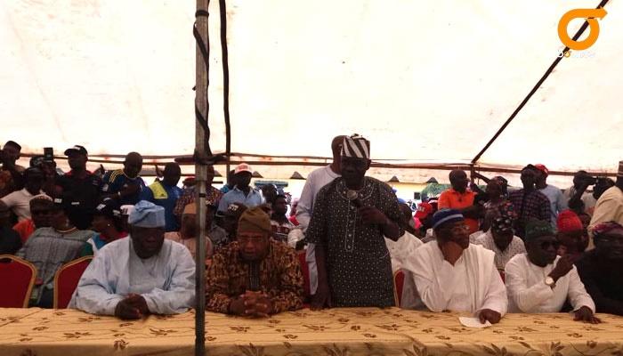 Tinubu, Osinbajo and party leaders endorse Sanwo-O