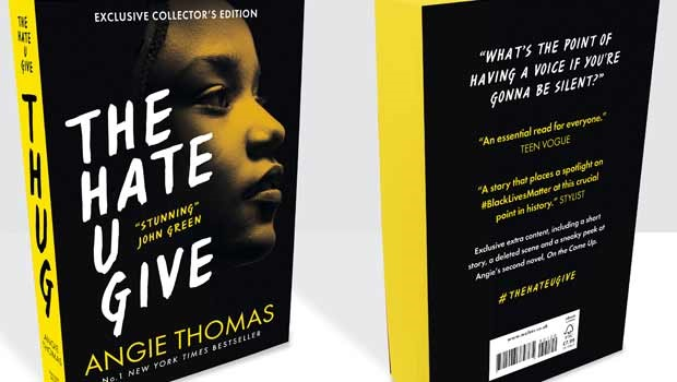 Exclusive collector's edition of The Hate U Give b