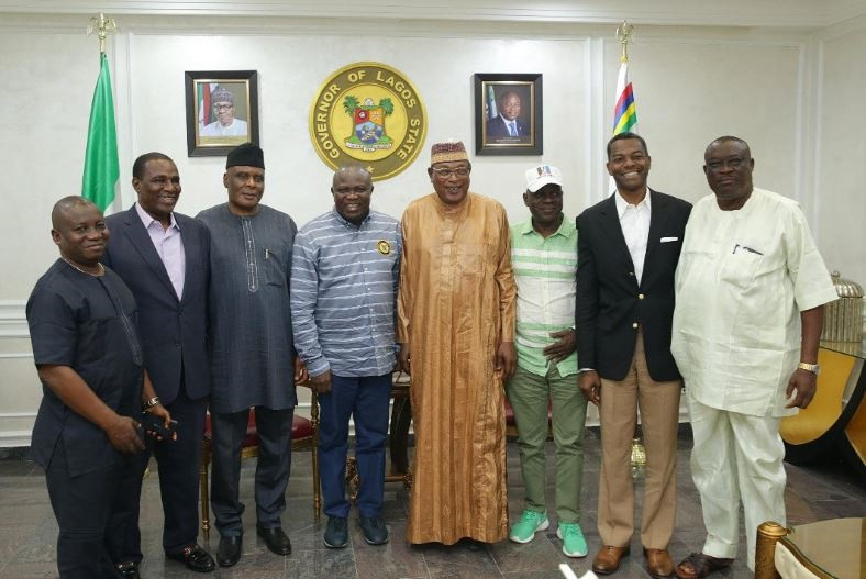 Governor Akinwuni Ambode & Members of APC NWC