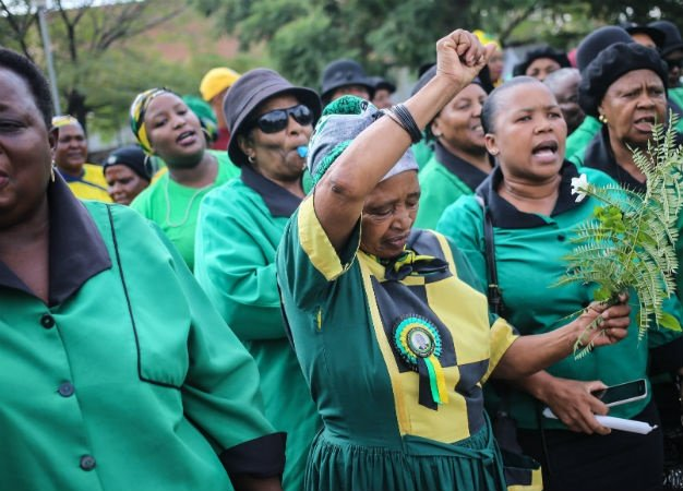 ANCWL members. (Alaister Russell, Gallo Images, Sowetan, file)