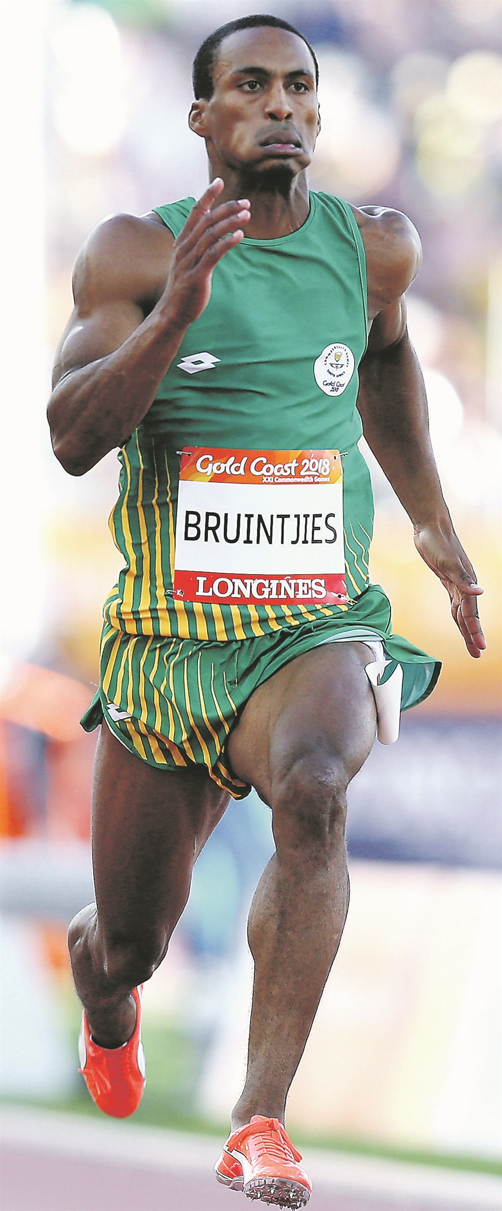 Sprinter Bruintjies used his lockdown time to find a whole new career. Picture: Getty Images