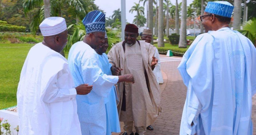 buhari meets apc governors