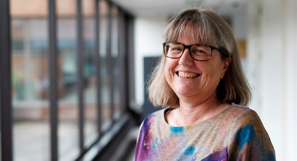 Professor Dr. Donna Strickland, the first woman in 55 years to be honoured with a Nobel Prize in Physics, at the University of Waterloo in Canada.