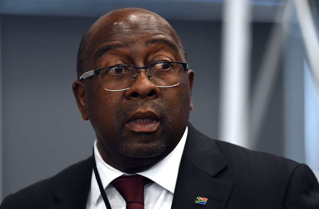 Finance Minister Nhlanhla Nene giving evidence on the allegations of state capture to the Zondo commission. Picture: Felix Dlangamandla/Netwerk24