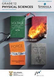 Siyavula Grade 12 Physics text book english cover