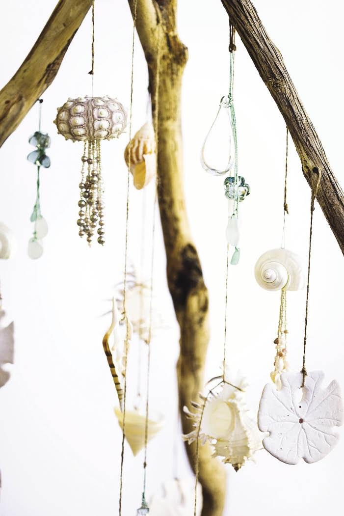 Versier die Kersboom of 'n venster met stringe sku