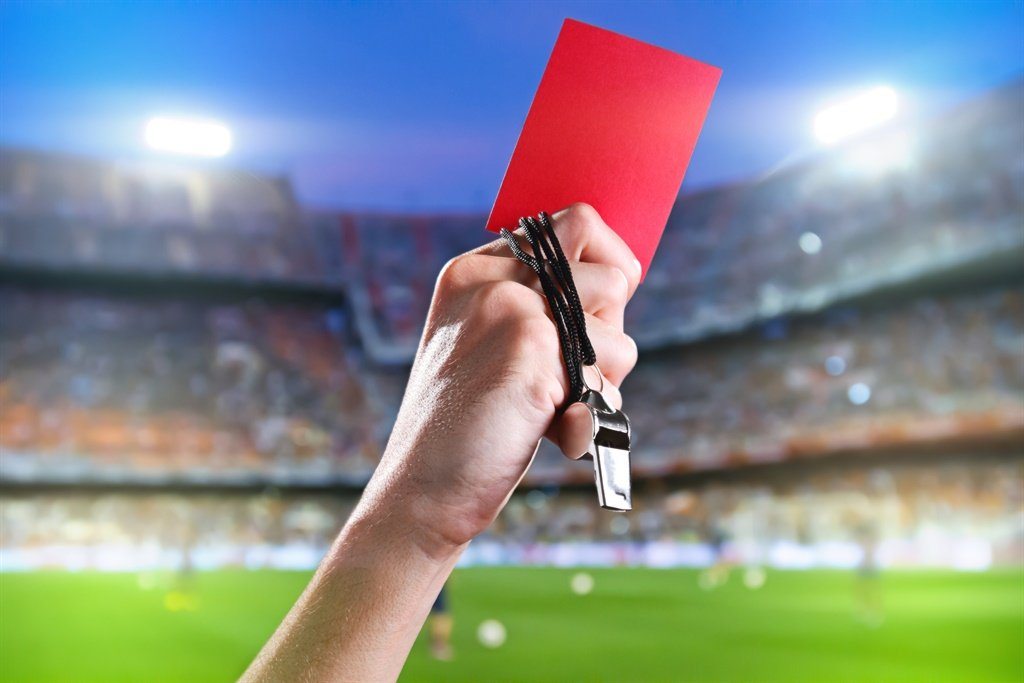 If you read the body language from other referees around the world and compare it with the PL, it's not very difficult to see the difference.  Their actions when signalling using their arms to show infractions and decision-giving is sometimes overexaggerated to bring unnecessary and unwarranted attention to themselves. Picture: iStock/Gallo Images