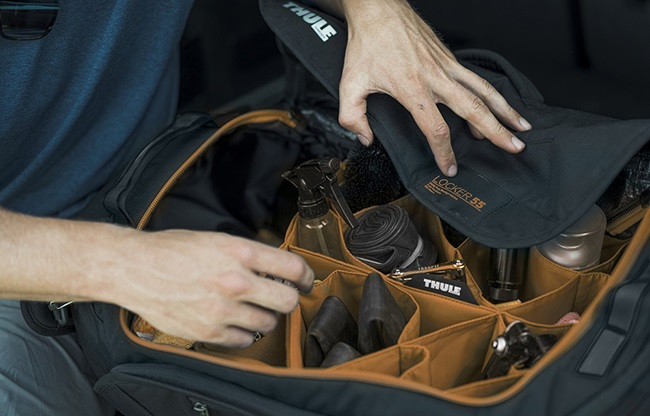 Riding bikes requires a lot of gear and this is a bag that makes it more manageable. (Photo: Thule)