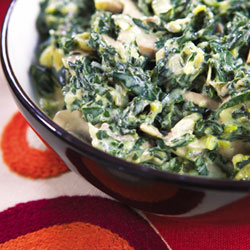 creamy spinach with mushrooms food24 cheese winder cheese & wine suites lisbon