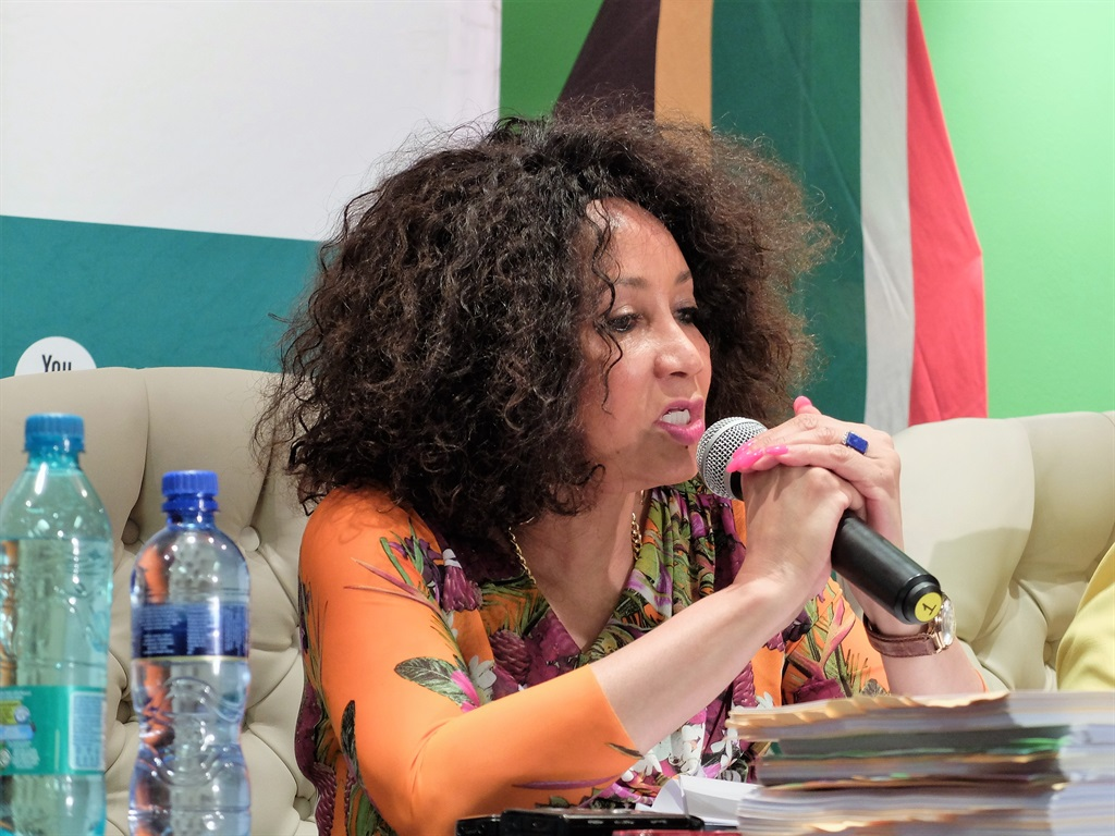 Lindiwe Sisulu, minister of international relations and cooperation.