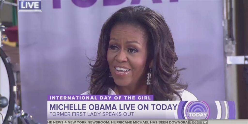 Michelle Obama on George W. Bush: 'I love him to death'