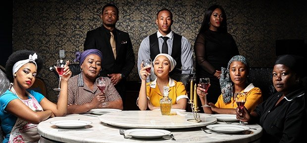The cast of Housekeepers.