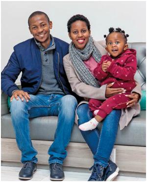 Gillian and Tshepo Moropa