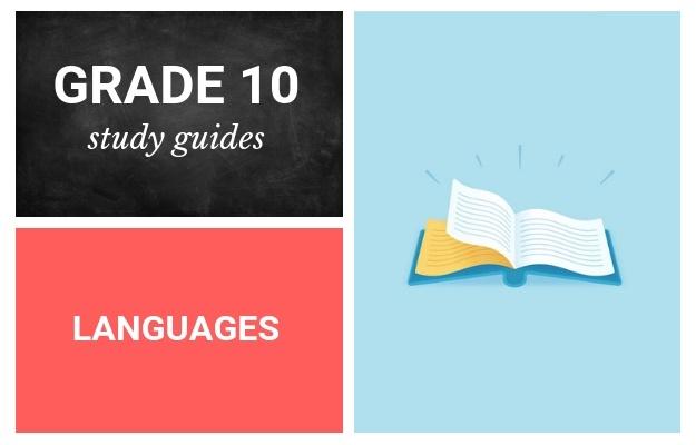 grade 10 study guides