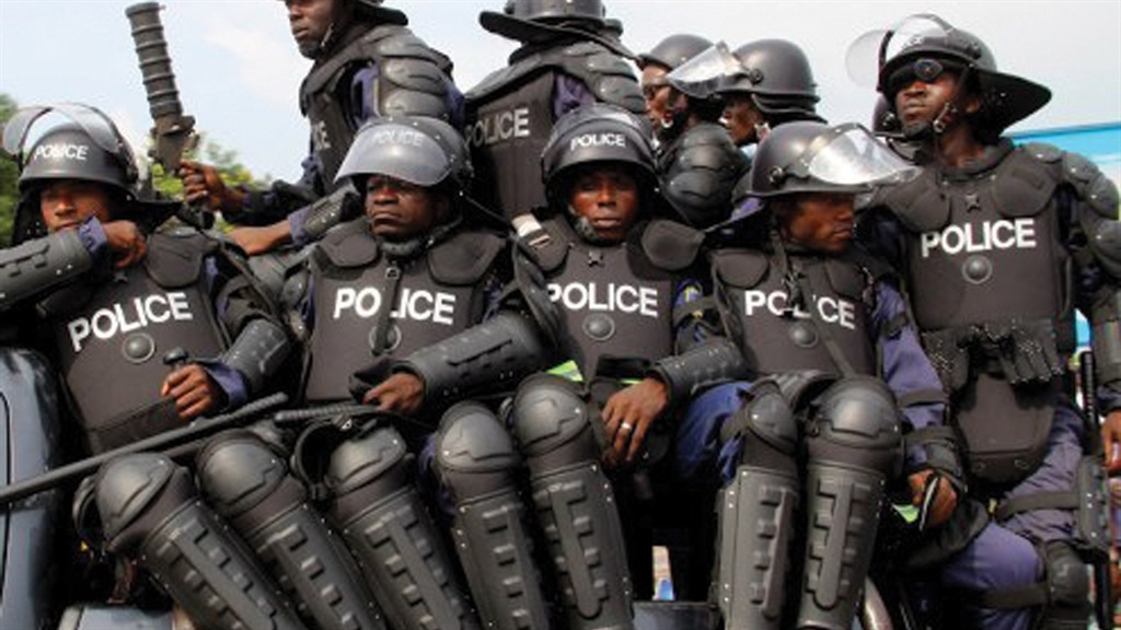 Officers of the Nigeria Police Force
