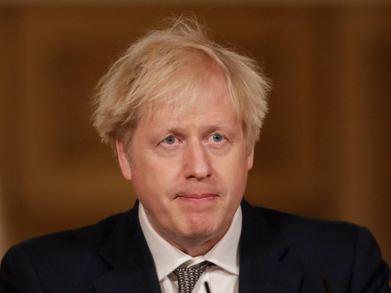 UK's Johnson summons ministers over new COVID-19 variant