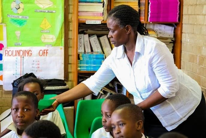 South Africa isn't producing enough teachers to meet the demand.
