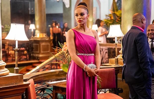 Pearl Thusi in 'Queen Sono.'