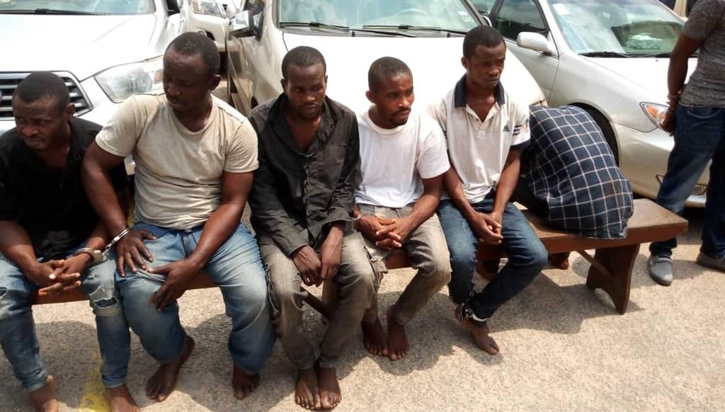 arrested kidnappers