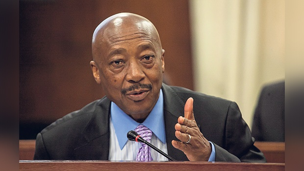 UNDER FIRE Sars commissioner Tom Moyane. Picture: Deon Raath