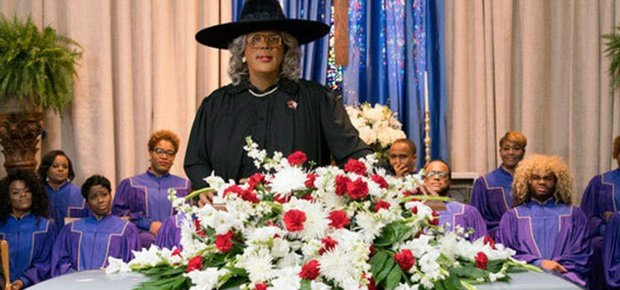 A scene in A Madea Family Funeral