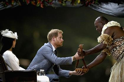 The Royal Family has a touching history with Fiji