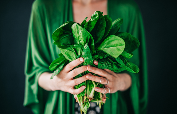 spinach, green, bunch, food, vegetable, health, di