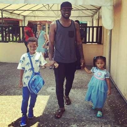Peter Okoye children