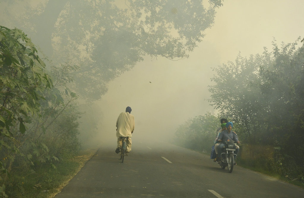 The Indian capital, New Delhi has suffered the most from air pollution.