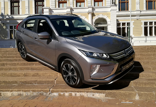 Mitsubishi's funky new crossover: Eclipse Cross shows the