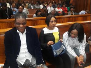 Timothy Omotoso, Lusanda Sulani and Zukiswa Sitho
