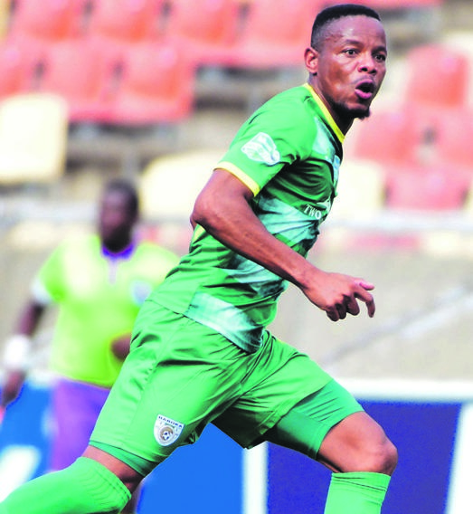 Thabiso Semenya's experience will be vital for Baroka FC in their quest for historic cup glory. Picture: Kabelo Leputu / BackpagePix
