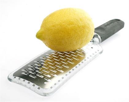 microplane with lemon