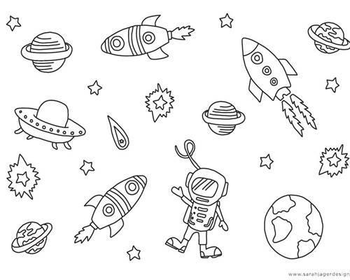 Sarah Jager Design Outer Space