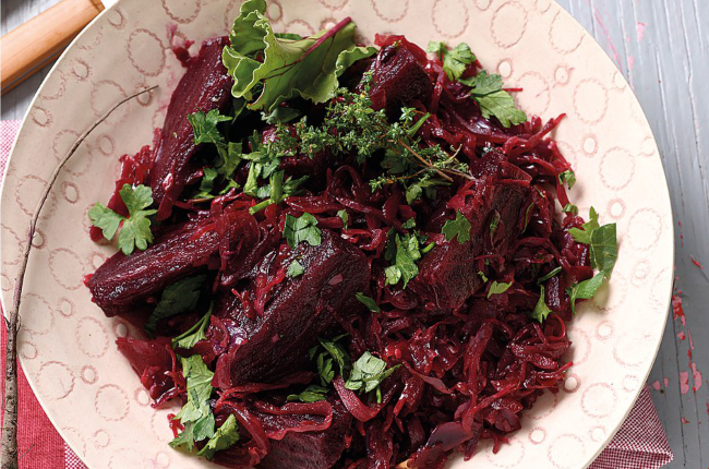 Beetroot is amazing to cook with