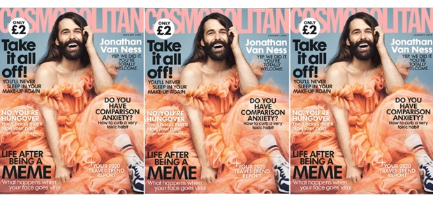 Jonathan Van Ness (Photo: Twitter/jvn; photographed by Rachell Smith)