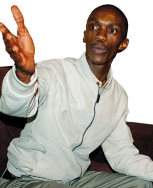 Njabulo Ndlovu was a 19-year-old law student at the University of Durban-Westville when he was falsely accused and imprisoned for 13 years (Drum)
